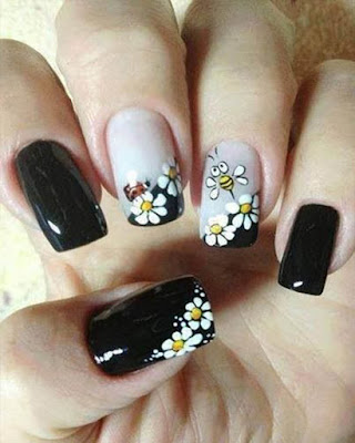 flower nail desings