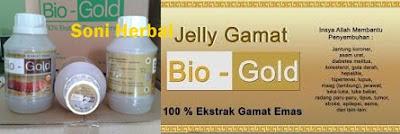 Jelly gamat bio gold asli pasti murah di madu herbal
