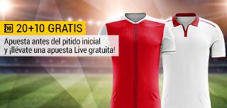 bwin promocion 10 euros Arsenal vs Sevilla 30 julio