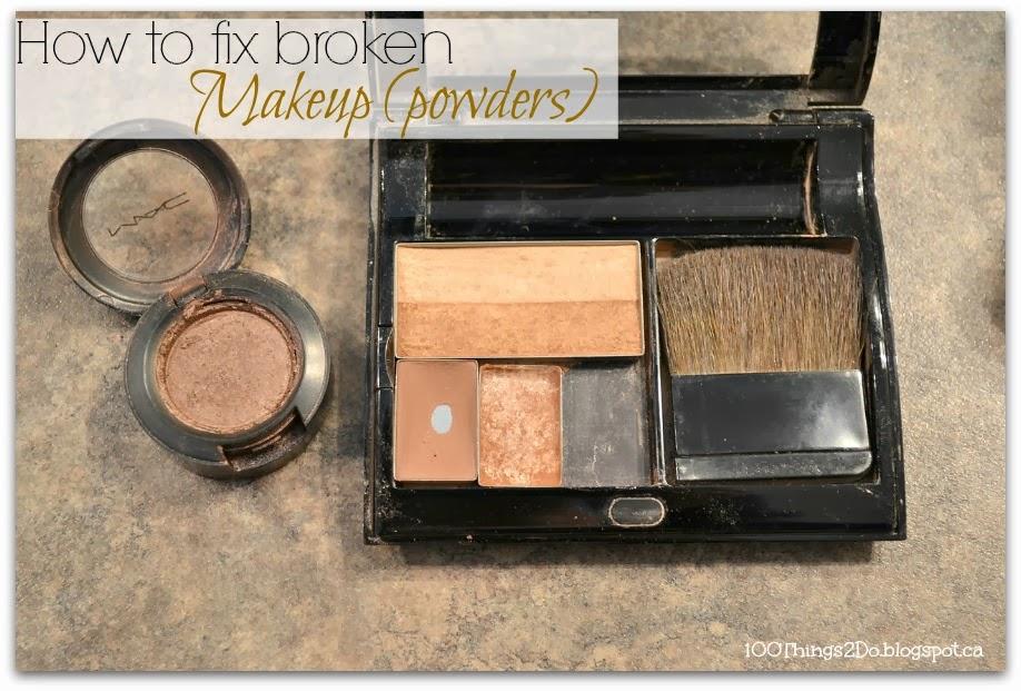 how to fix broken eyeliner
