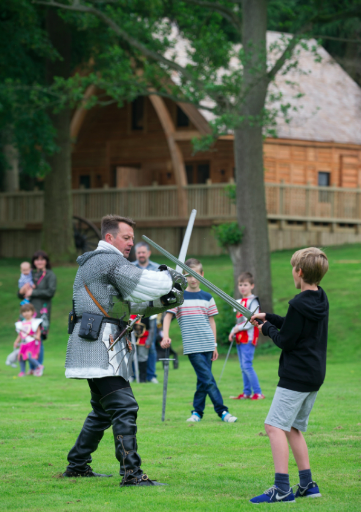 The Best Themed Hotels for Families in the UK - Knight's Lodge Warwick Castle