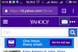 Cara Super Cepat Membuat Email Yahoo lewat HP