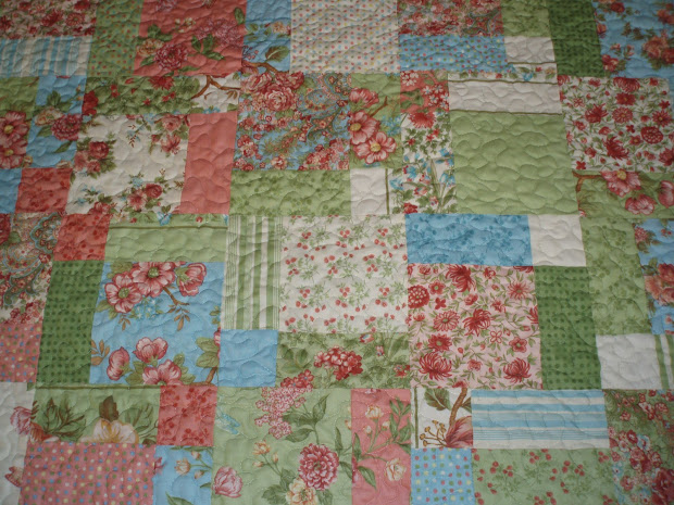 Quilt Made with Moda Fabric