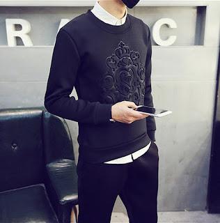 Model Sweater Terbaru Korea Pria Juni 2016 Keren