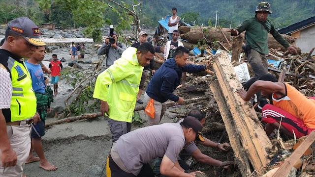 Korban Banjir Bandang Sentani Capai 140 Orang Tewas dan 76 Dilaporkan Hilang