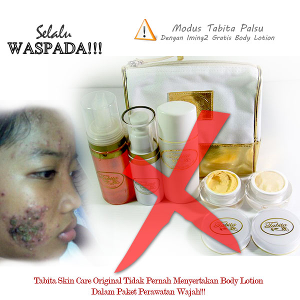 Bahaya Tabita Skin Care Palsu
