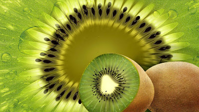 wallpaper hd buah kiwi