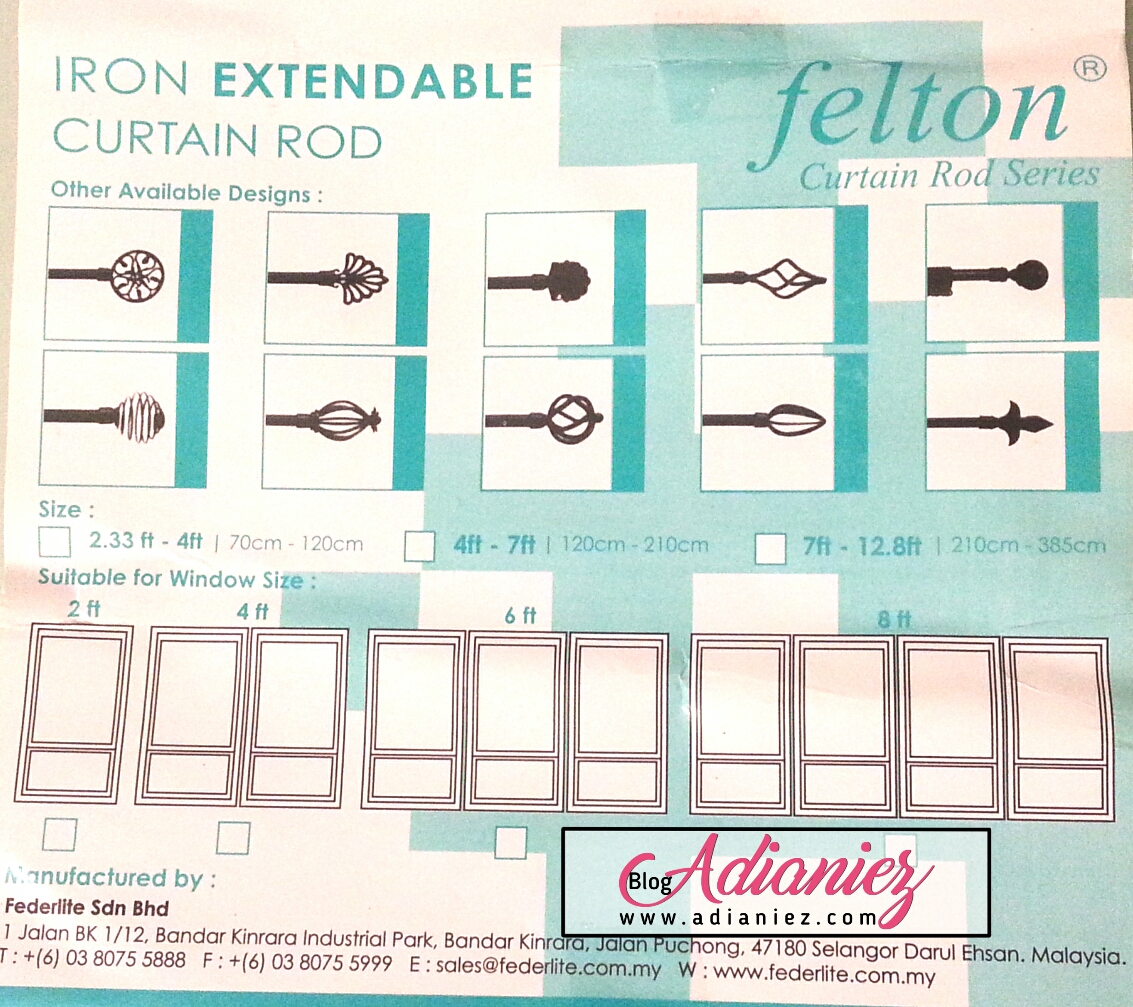 D I Y Aeon Extendable Curtain Rod Blog Adianiez