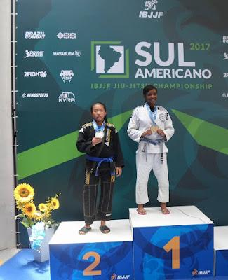 """Atleta Registrense Sagra se Vice Campeã Sulamericana de JiuJitsu"""