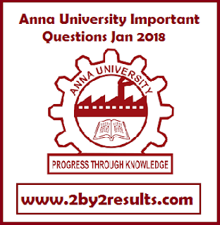 BA5106 Statistics for Management Important Questions Jan 2018 PDF Download - Anna University IQ 2018