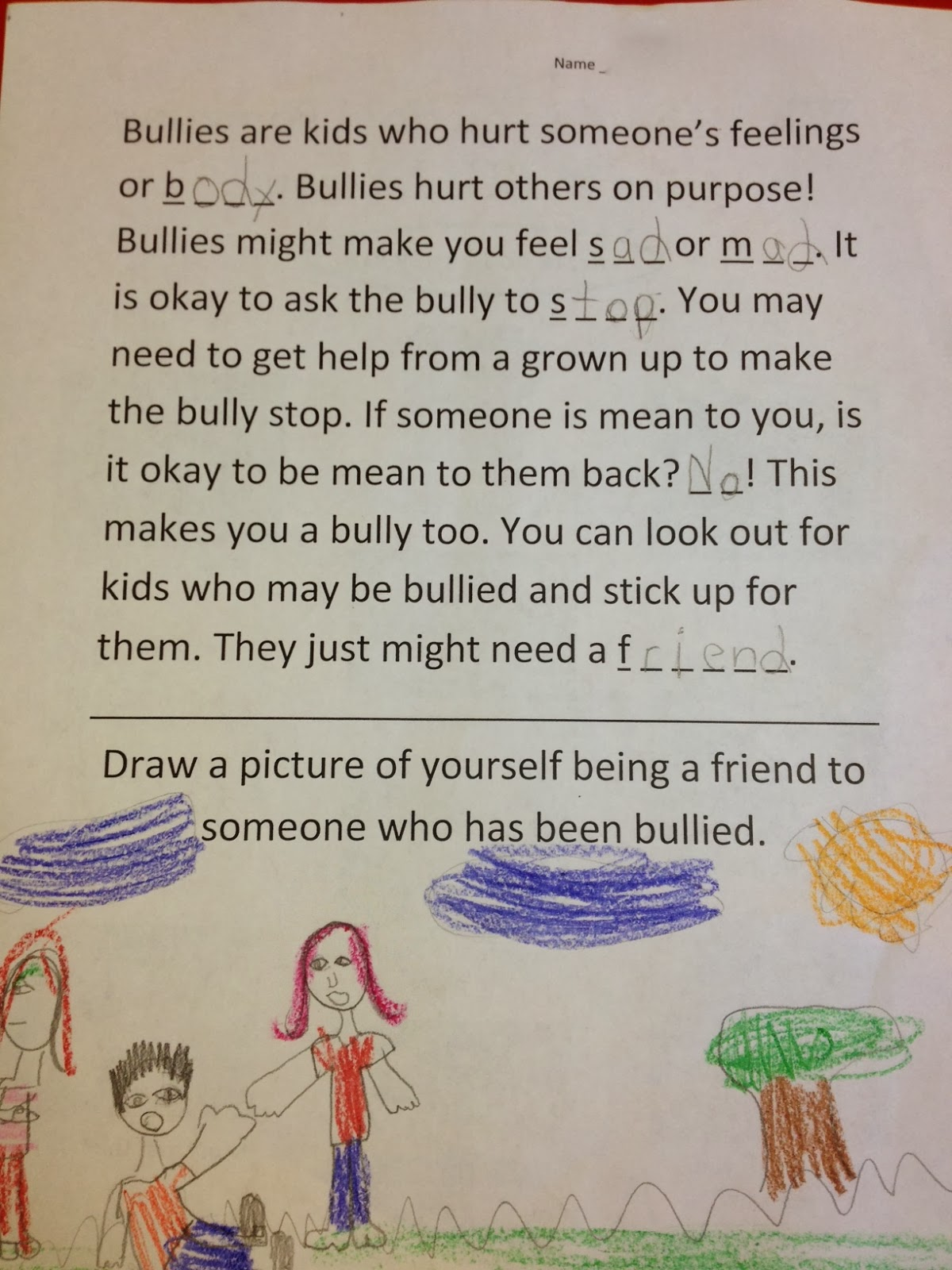 School Counselor Ideas: Lessons on Bullying [ 1600 x 1200 Pixel ]