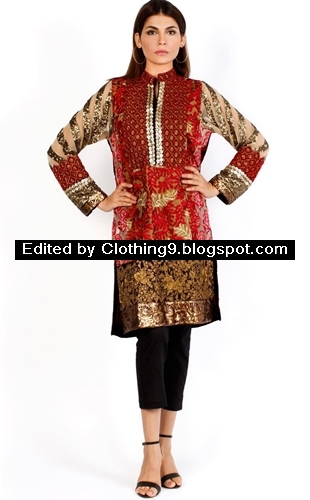 Finest Ready to Wear for Eid 2015 by Sana Safinaz
