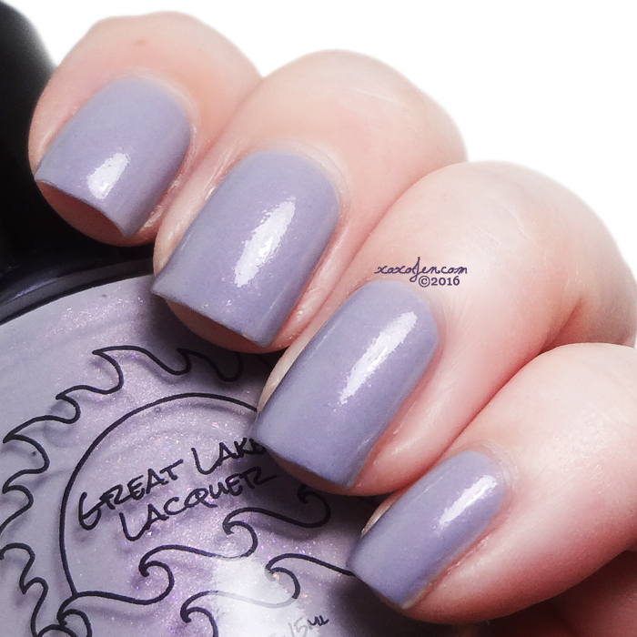 xoxoJen's swatch of Great Lakes Lacquer Sleeve Me