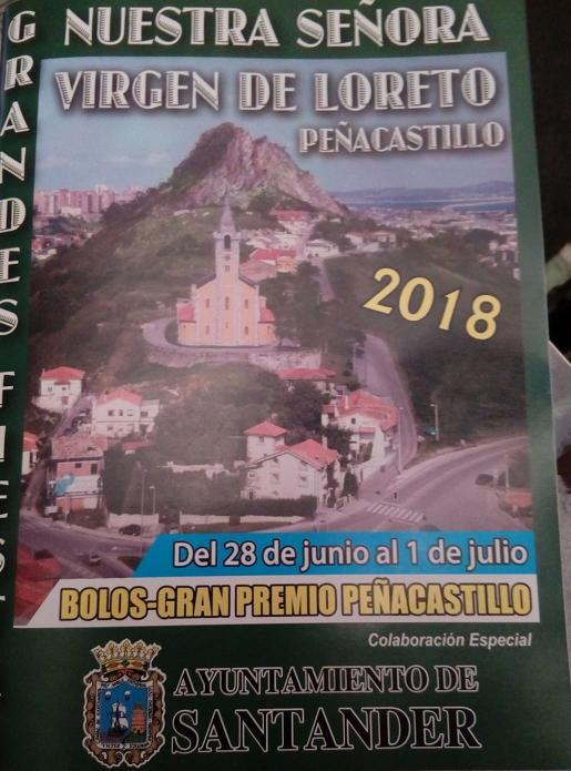 Fiestas de Nuestra Señora Virgen de Loreto en Peñacastillo 2018