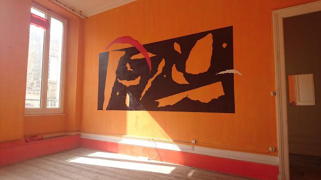 idee peinture sur mur interieur appartement bordeaux decoration jean baptiste besançon