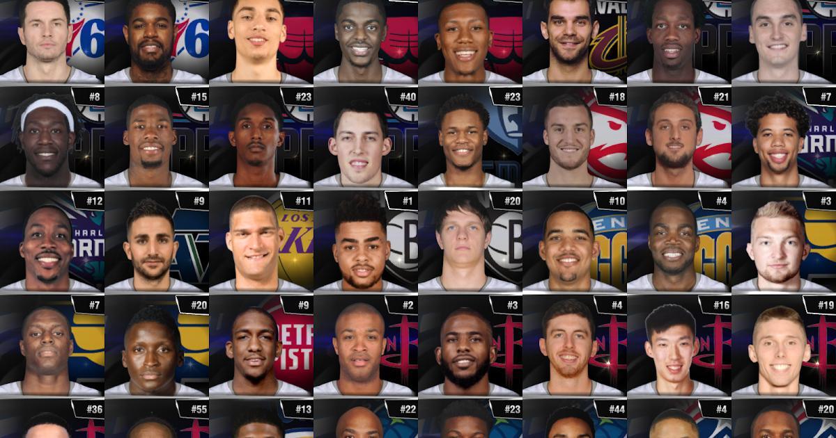 Med's NBA Roster v4.8 (2017-2018 NBA Season Update) & Universal Portrait Project v4.5 Released ...