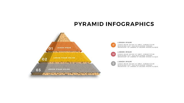 Realistic Pyramid Infographics Free PowerPoint Template Slide 6