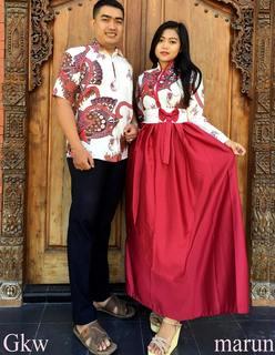 Model Baju Batik Couple Family