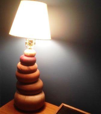 Bikin Sendiri Dudukan lampu Hias yang Indah dari kayu