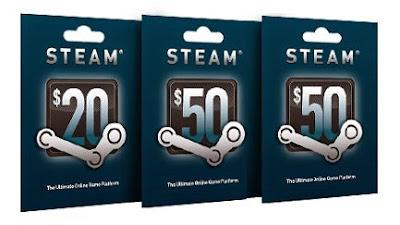 Cara Dapat Steam Gift Card Gratis