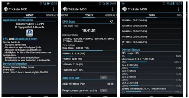 Trickster mod to extend battery life