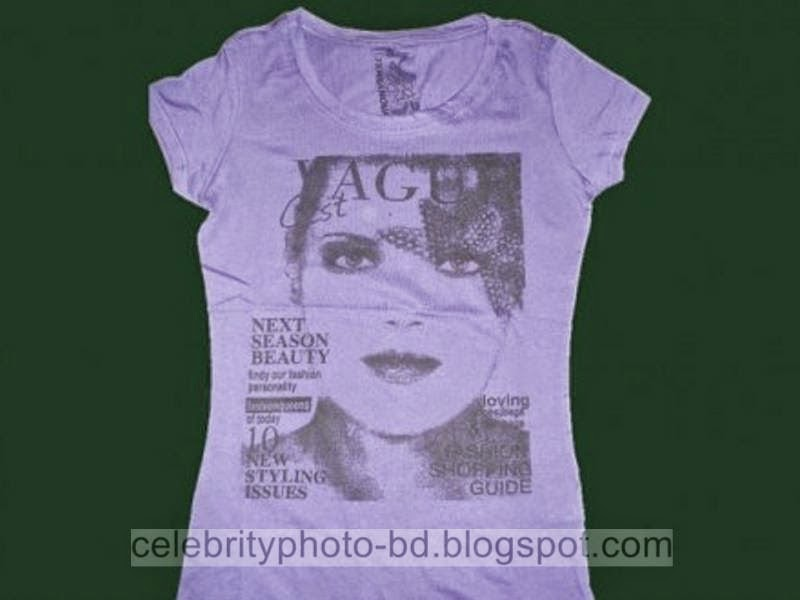 Exclusive T-shirt Photos Gallery For Moderm Smart Girls