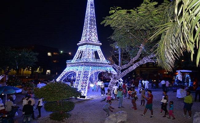 torre Eiffel en Santo Domingo