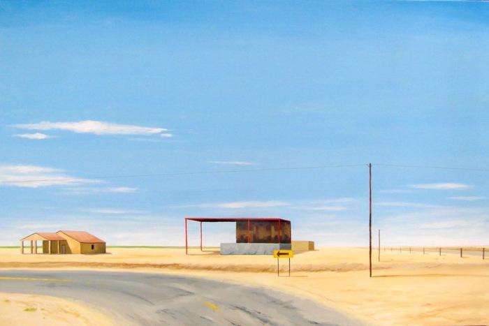 Пустые и забытые пейзажи. Lukasz Ratajczyk