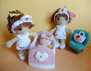 Amigurumi Nurse Pattern : 2000 Free Amigurumi Patterns
