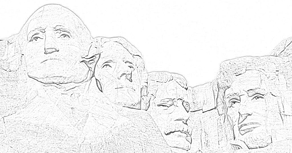 Coloring Pages: U.S. National Monuments Coloring Pages