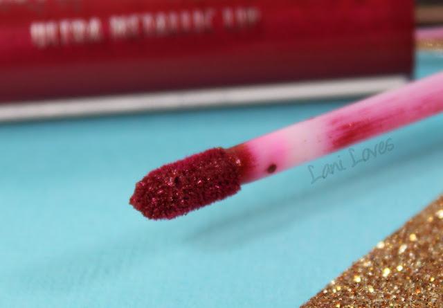 ColourPop Ultra Metallic Lip - Surprise Swatches & Review