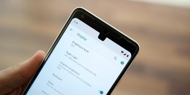 Android P Kaliteli Ekran Görüntüsü