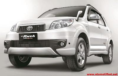 Daftar Harga Mobil Toyota Rush