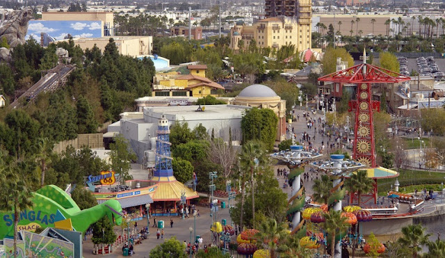 Sobre o Parque da Disney na Califórnia