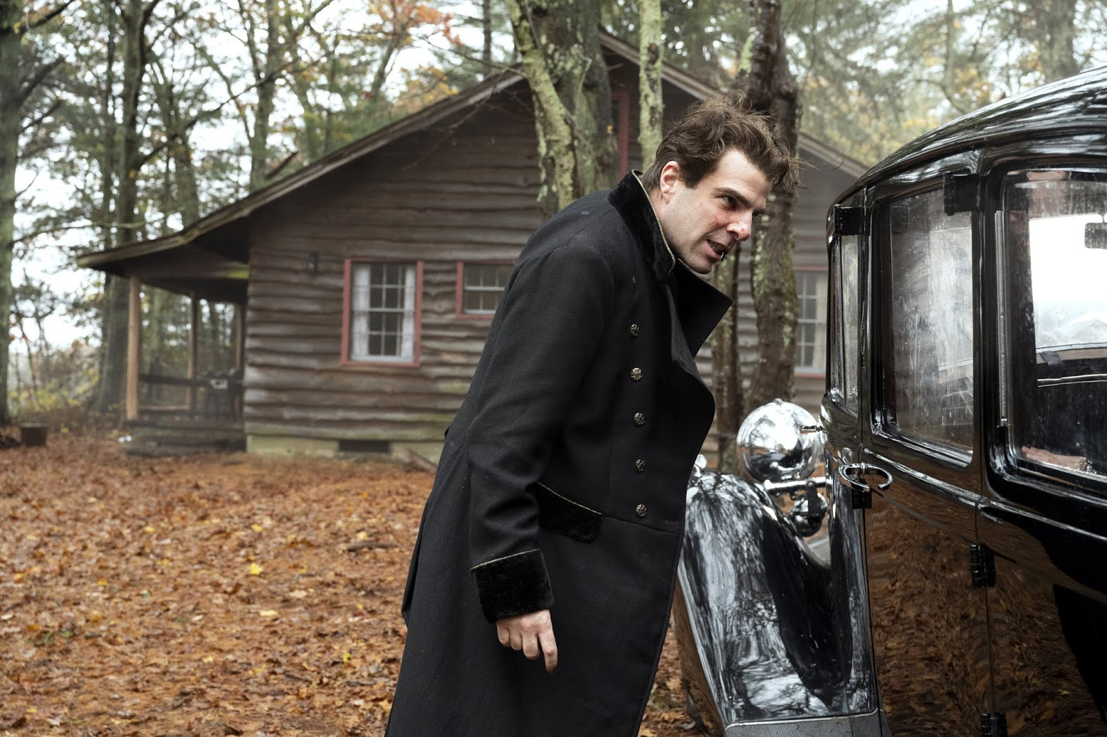 Zachary Quinto is Charlie Manx | NOS4A2 Bruce Wayne McQueen | season 2 episode 5