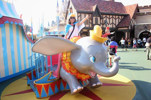 Tokyo Disneyland Dumbo Statue