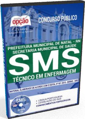 Apostila SMS Natal 2018 - Técnico em Enfermagem
