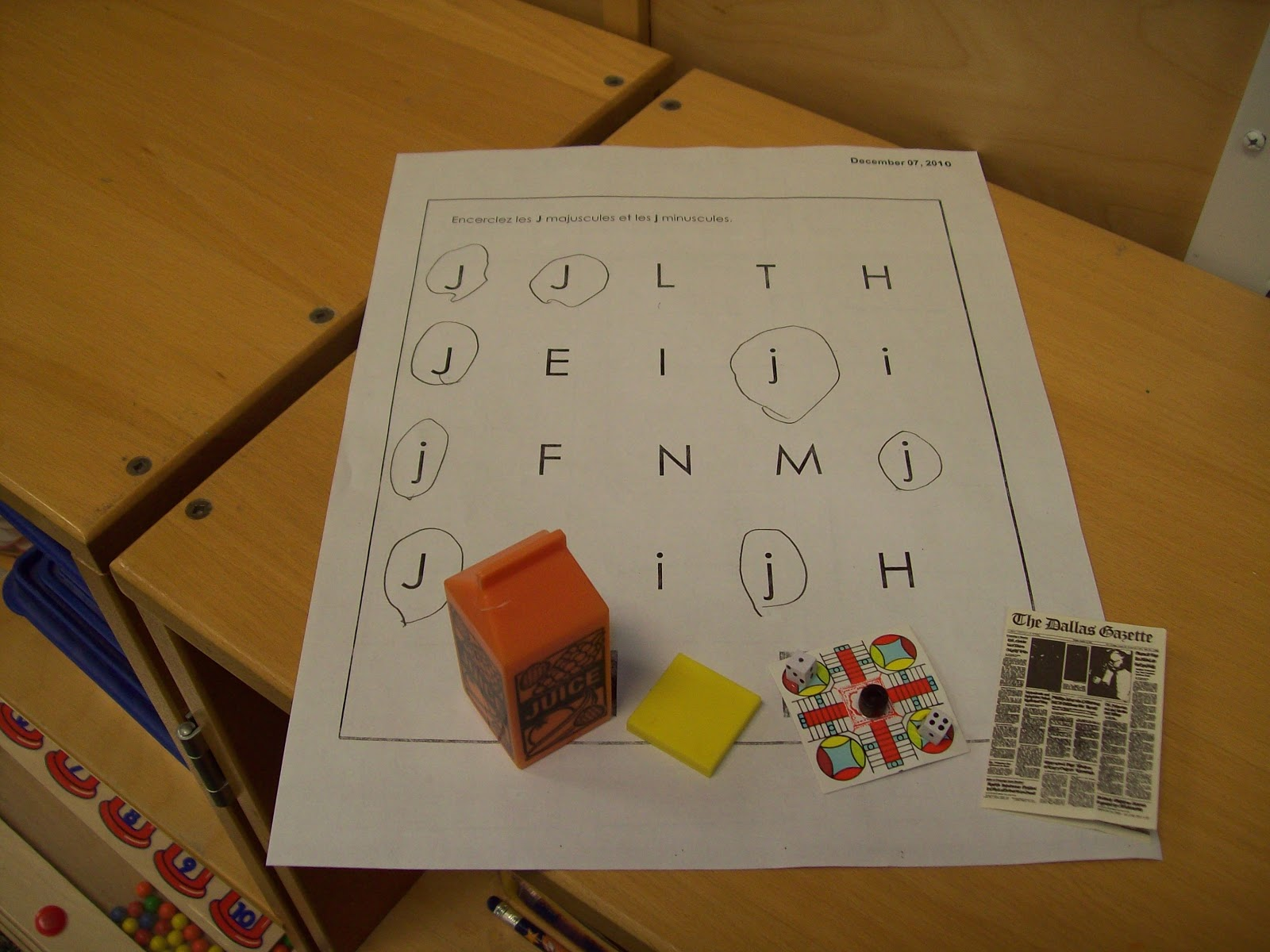 Kindergarten Words That Start With The Letter J
