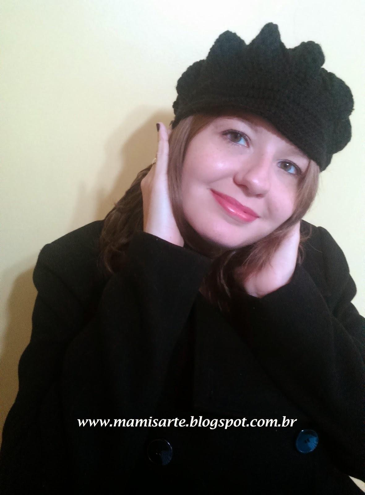 Crochet et Tricot da Mamis  Boina em Crochet f6125d663c0