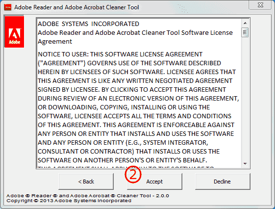 Adobe Cleaner Tool 2