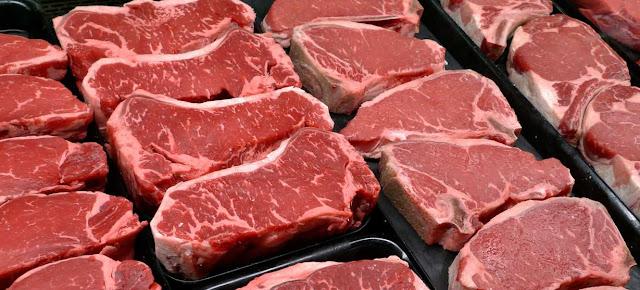 Carne y alimentos con proteinas