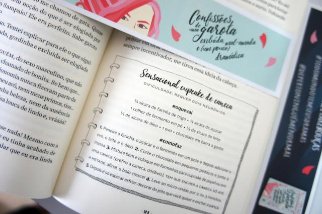 Confissões de uma garota mal amada receitas do livro Thalita Rebouças