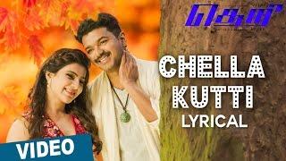 Chella Kutti Song with Lyrics _ Theri _ Vijay, Samantha, Amy Jackson _ Atlee _ G.V.Prakash Kumar