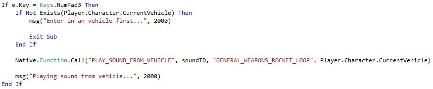 GTA X Scripting: [TUT] Playing native sounds and external sounds