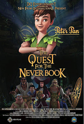 Peter Pan The Quest For The Never Book 2018 DVD R4 NTSC Latino