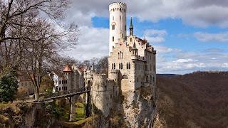 Lichtenstein hoog in de bergen