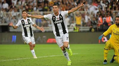 Juventus 1 AC Milan 0: Ronaldo Pahlawan Juventus