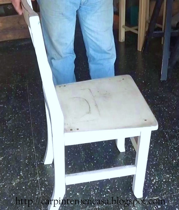 carpintero en casa como reparar una silla de madera