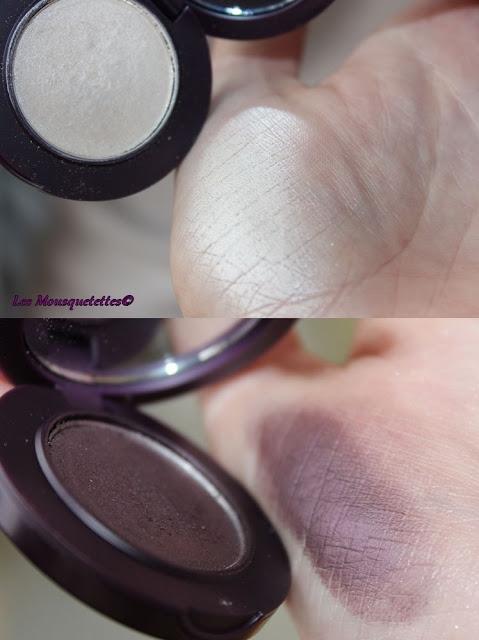 Fards à paupières - Ombres intentes - L'Atelier Maquillage - Blog beauté Les Mousquetettes©