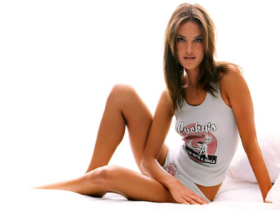 Alessandra Ambrosio Victoria Secret's Model Desktop Wallpaper 008,Alessandra Ambrosio HD Wallpaper, Hot hd wallpaper